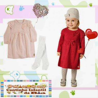 Um look para a petite que sai  com a mãe para dia de compras no shopping ou uma visita de família cheia de elogios