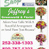 Support our advertiser Jeffreys Florist