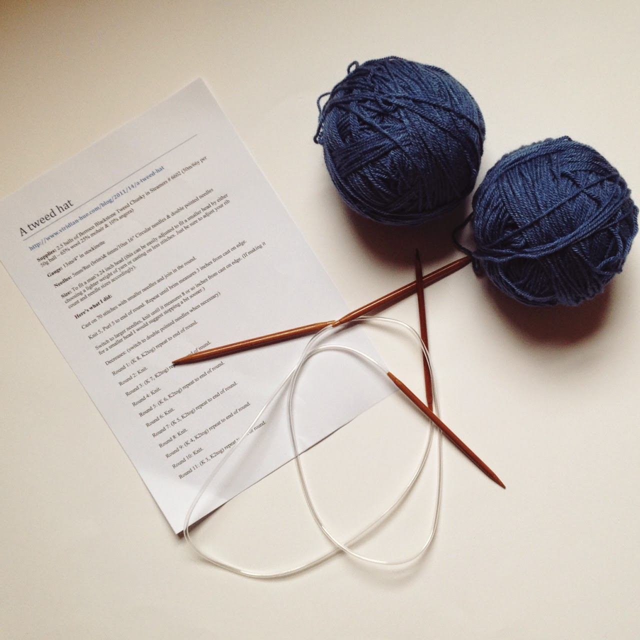 Knit With Round Needles : The geeky knitter knitting with circular needles