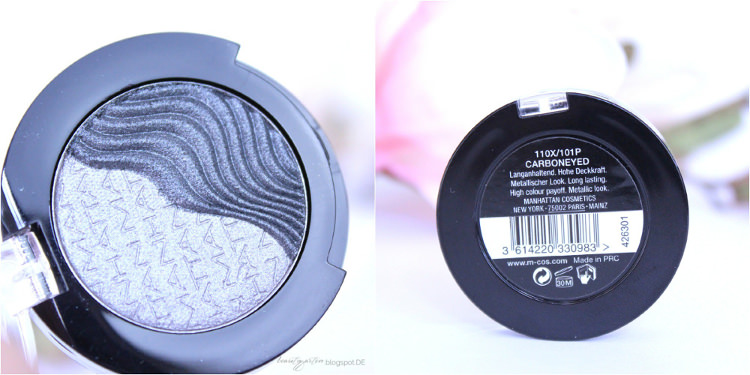 MANHATTAN Farbrausch 3D Effect Eyeshadow Carboneyed