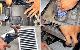 cara membersihkan filter udara mobil