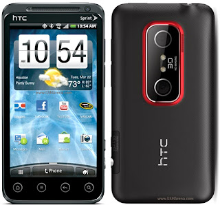 HTC EVO 3D CDMA april 2011