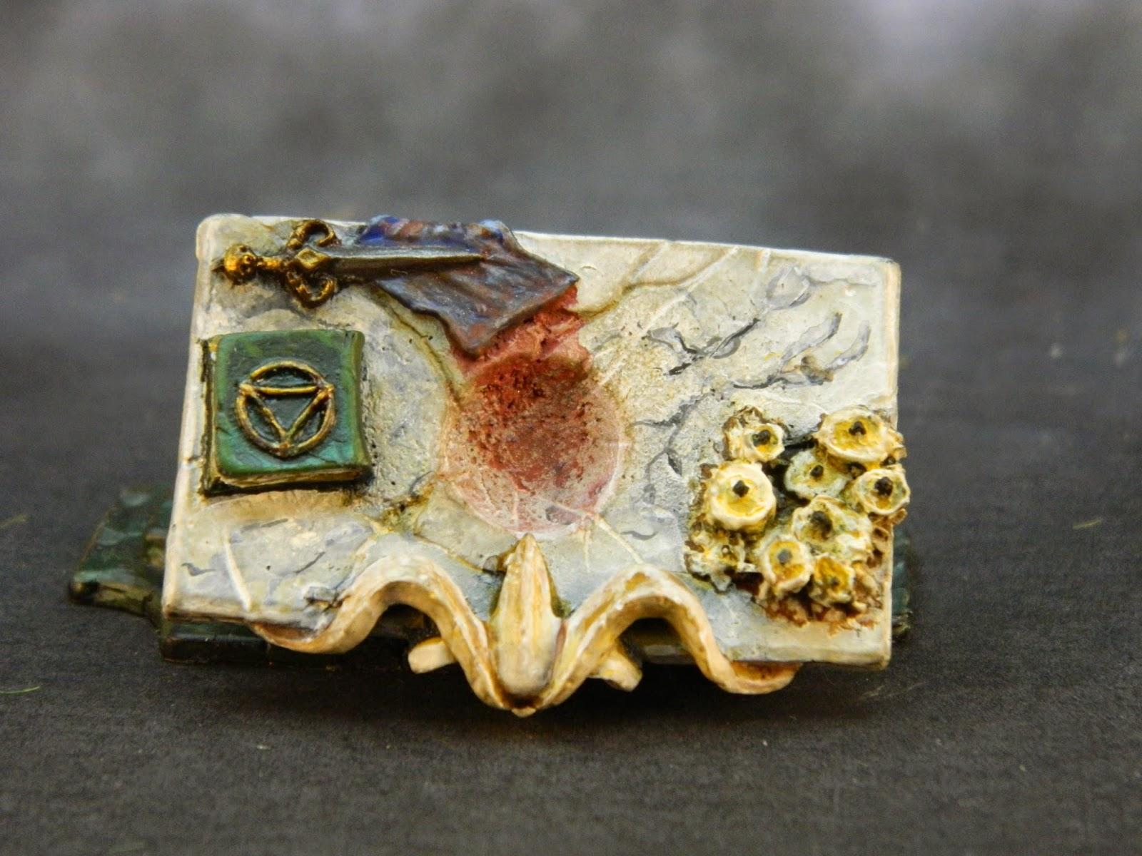 La espada y los dados heroquest 25 aniversario for Como limpiar marmol manchado