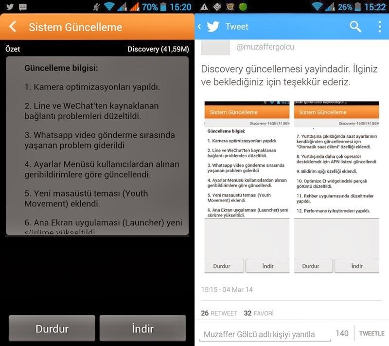 general mobile mart güncellemesi geldi güncelleme detayları