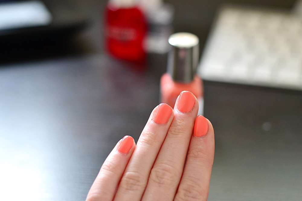 Barry M Gelly Papaya Nail Polish Review