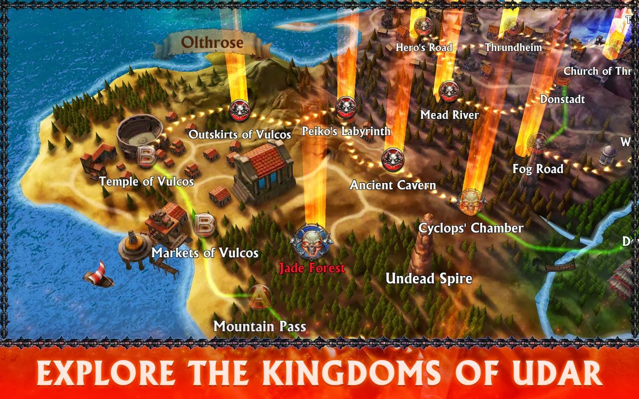 Eternity Warriors 3 1.1.0 (MODDED) APK OBB DATA -Free Android Game and