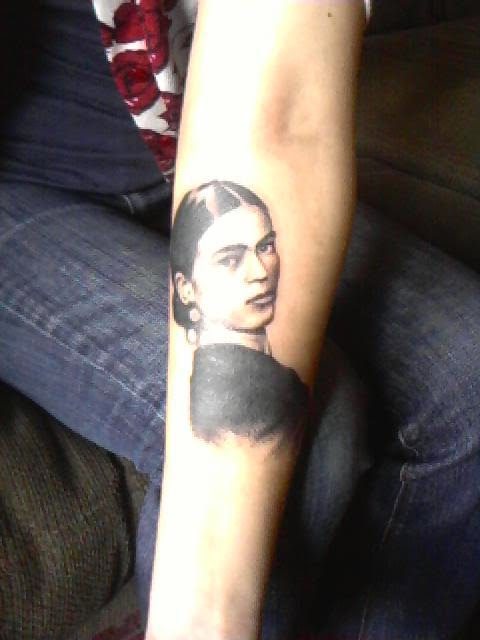 Frida Kahlo another woman I admire for her passion and talent