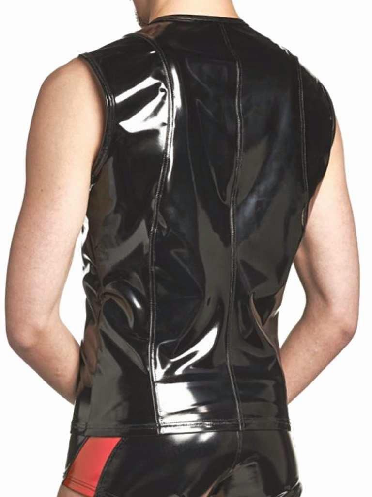 Benno von Stein Emoa Shirt Black Lacquer Back Gayrado