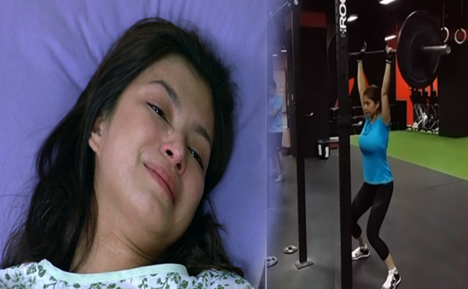 how does angel locsin got spinal injury