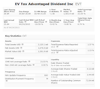 EV Tax Advantaged Dividend Income Fund | EVT