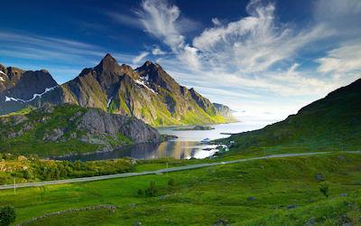 Paisaje en las altas montañas - High mountains landscape