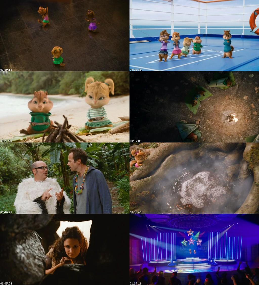 Alvin y las ardillas 3 (2011) [DVDScreener] [Latino]