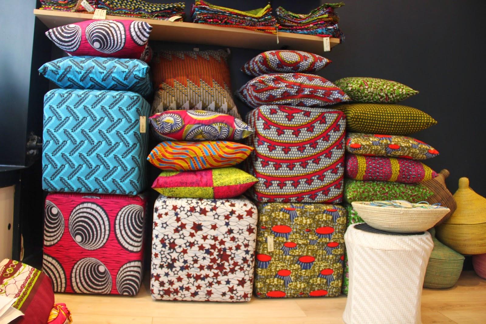 Nothing but the wax keur la boutique de deco africaine a for La boutique deco