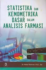 toko buku rahma: buku STATISTIKA DAN KEMOMETRIKA DASAR DALAM ANALISIS FARMASI, pengarang abdul rohman, penerbit pustaka pelajar