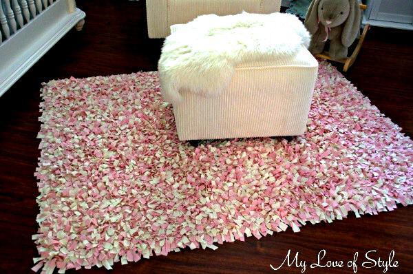 Nunonu 10 tutoriales de alfombras con retazos de telas o trapillo - Tutorial alfombra trapillo ...