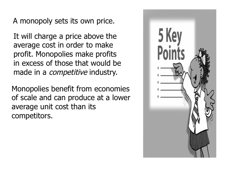 the advantages and disadvantages of monopoly in a market