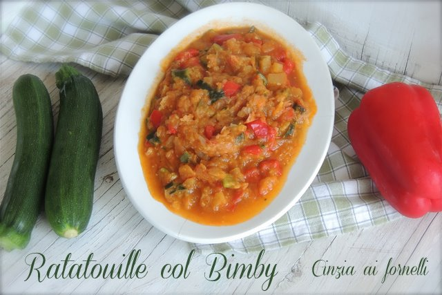 ratatouille with thermomix