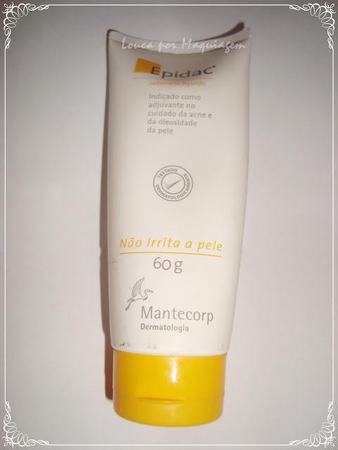 sabonete liquido para pele oleosa  epidac
