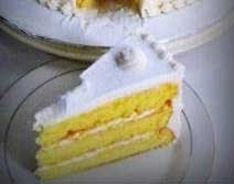 Resep Snow White Cake
