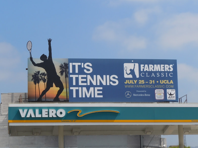Farmers Classic Tennis billboard