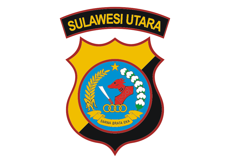Download Logo Polda Sulawesi Utara Vector