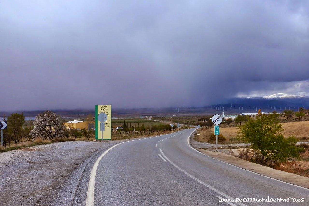 Tormenta en ciernes, La Calahorra