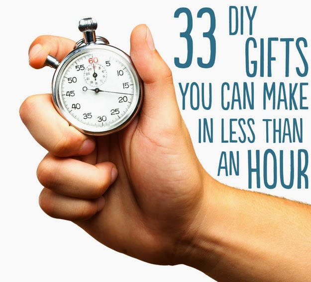 33 diy gifts you can make in less than 1 hour diy craft for Gift ideas you can make
