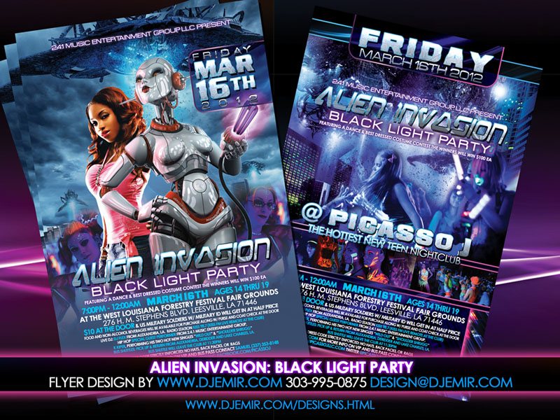 how to make a party flyer online