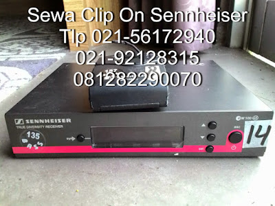 clip on Sennheiser G3 Rental Headset Shure | Sewa Clip On | Jasa Penyewaan Microphone Wireless Murah Jakarta