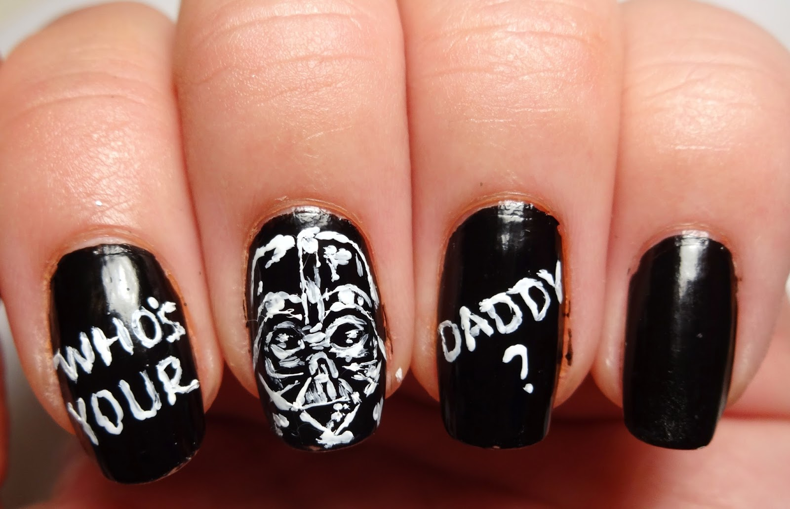 Who's Your Daddy Nails
