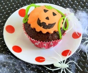 Cupcakes para Halloween, Recetas Paso a Paso