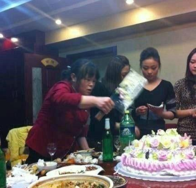 jokes, laughters, cut the cake