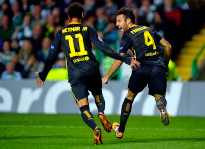 Video Celtic Vs Barcelona 0-1 Hasil Liga Champions 2 Oktober 2013