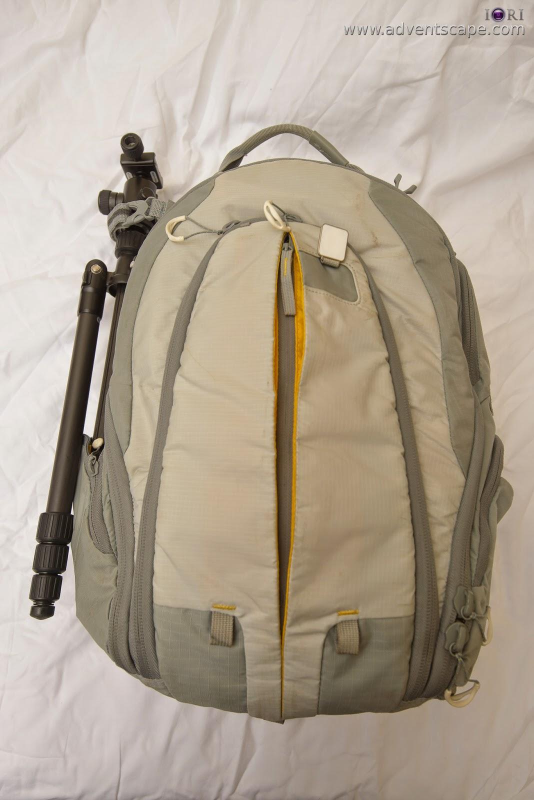 205, adventscape, Australian Landscape Photographer, bag, Bug, Kata, Manfrotto, Philip Avellana, review, tripod holder, side