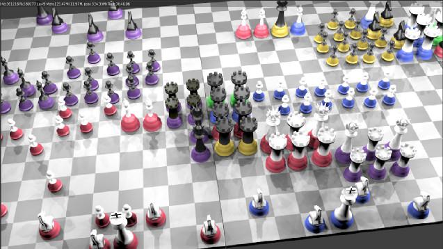 новая шахматная игра для множества игроков
