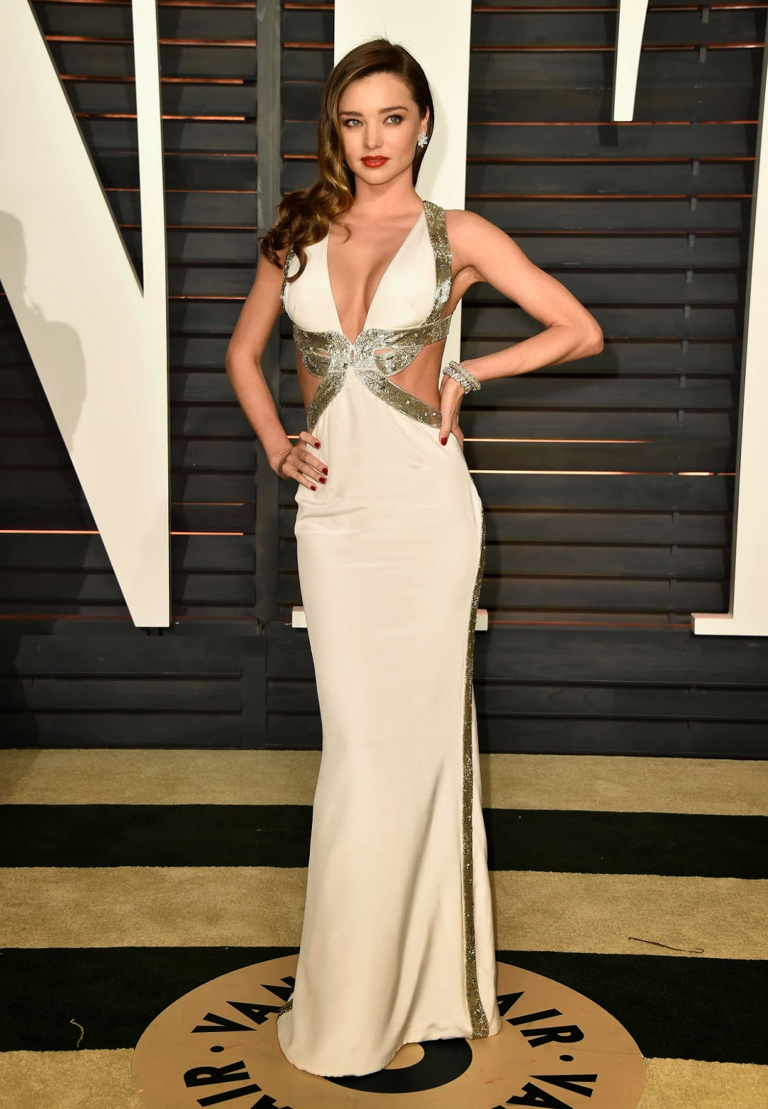 Miranda Kerr – 2015 Vanity Fair Oscar Party in Hollywood