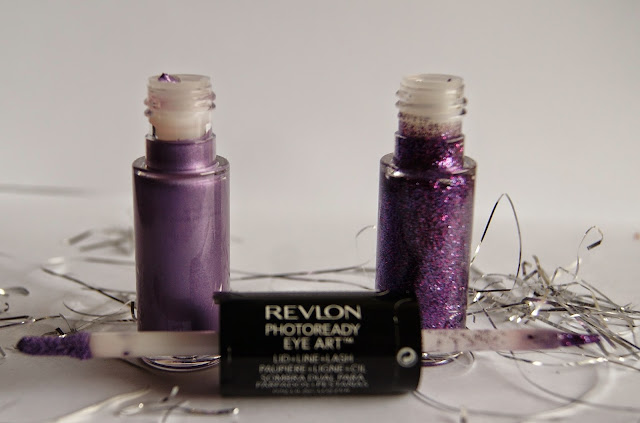 Revlon PhotoReady Eye Art Lid + Line+ Lash in Lilac Luster and Topaz Twinkle, review, beauty, eyeliner, eyeshadow, holiday, look, toronto,ontario, canada, thepurplescarf, melanieps