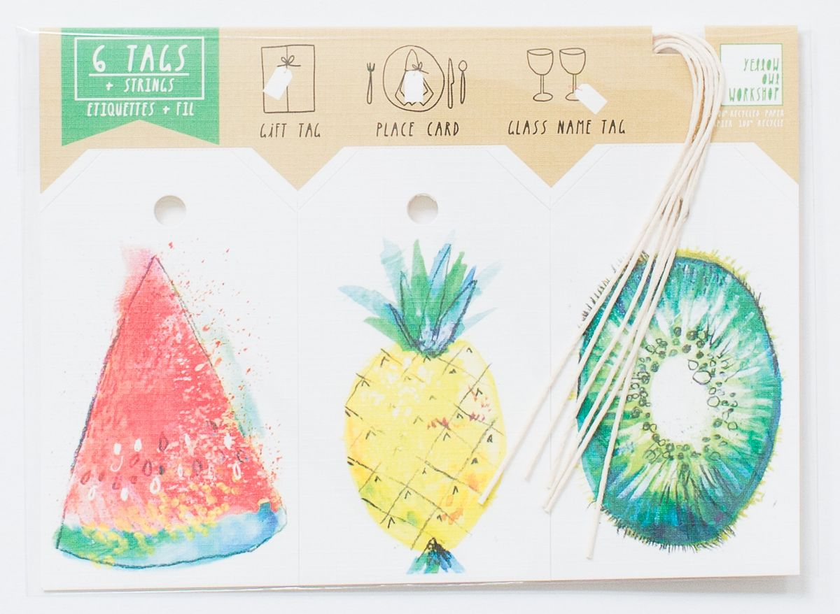 fruit tags