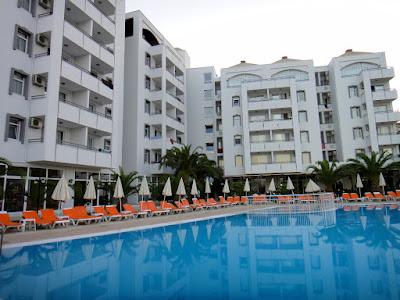 Swimming pool at Panorama Hill Hotel Kusadasi