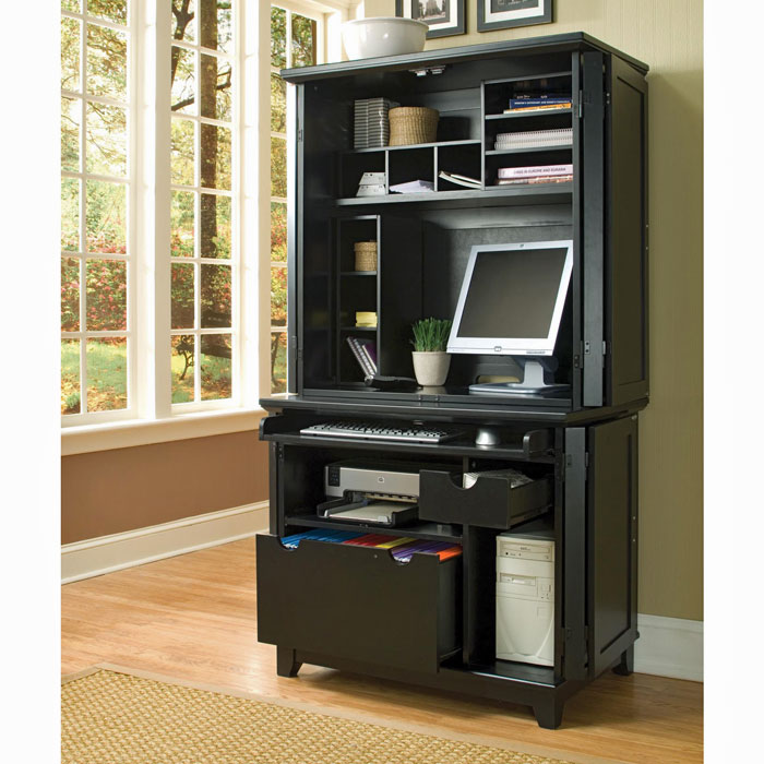 : Home Office Armoire: Multi-Functional and Versatile for Home Office