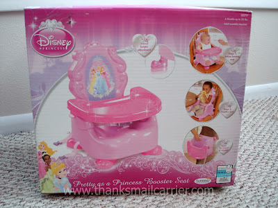 princess booster seat