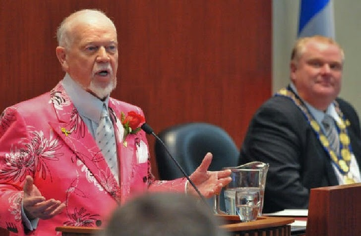 Don Cherry & Rob Ford.