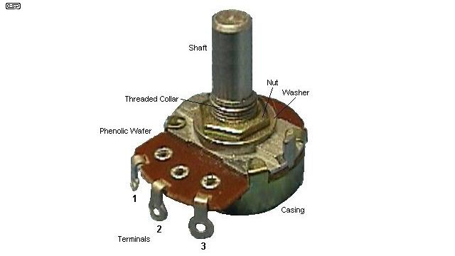 Robo Zone How To Convert Dc Motor Into Servo Motor