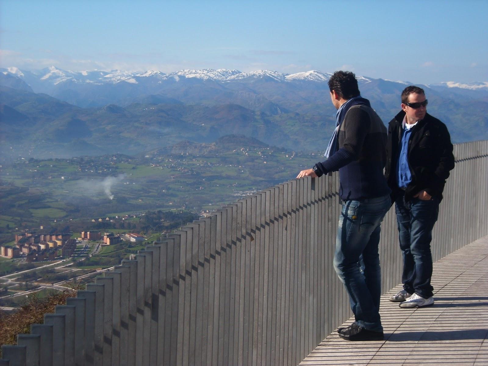 Vistas desde Monte Naranco, Oviedo