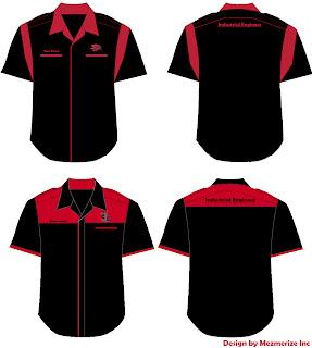 SAMPLE DESIGN CORPORATE/ F1 SHIRT | Printing & Embroidery Shirt