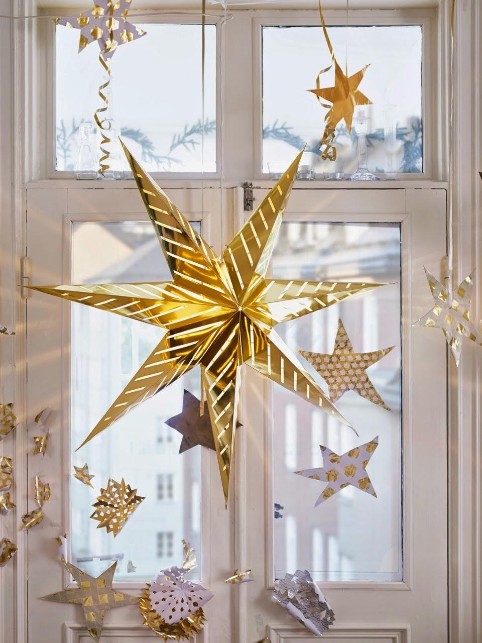 Navidad ikea 2014 decorar en blanco y dorado for Decoracion de navidad 2014
