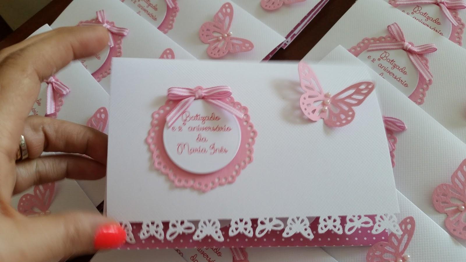 Ideias da bbu atelier convite de batizado tema borboletas convite de batizado tema borboletas altavistaventures Gallery