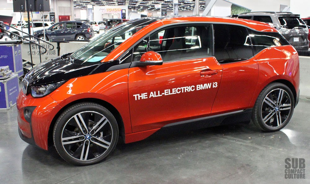 BMW i3 (Solar Orange Metallic)