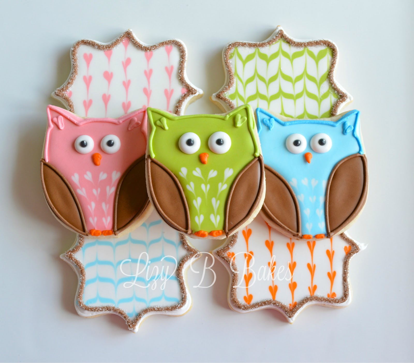 Owl Decorated Cookies Lizy B Birthday Birdies And Owl Cookies