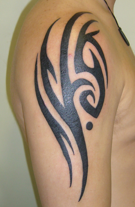 Body painting art gallery and tattoos april 2011 for Tribal body tattoo